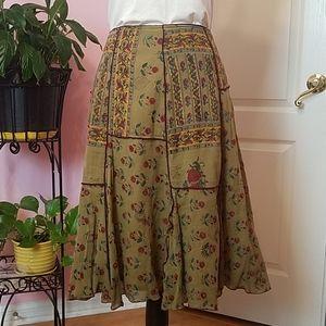 Dean Alan Gypsy Boho Skirt M